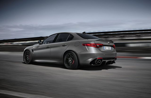 The Alfa Romeo Giulia Quadrifoglio Nring Is Incredibly Expensive