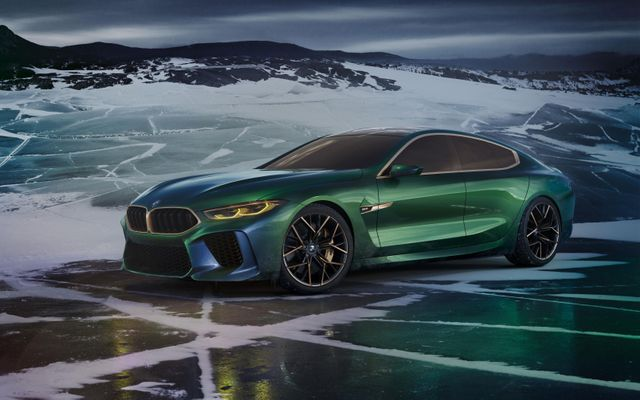 The Bmw M8 Gran Coupe Is A Mean Green M5 In A Sharp New Suit