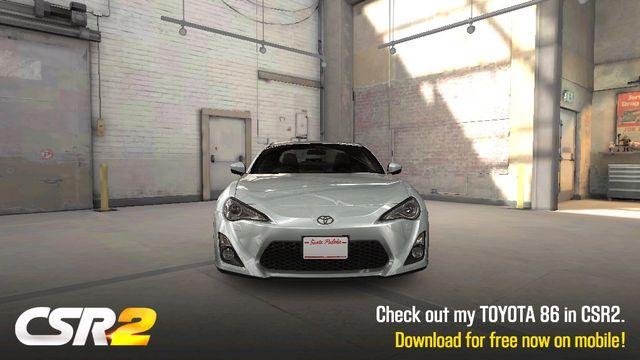 Stock Toyota GT86 CSR racing 2 197 HP Grip 4250 Shift time