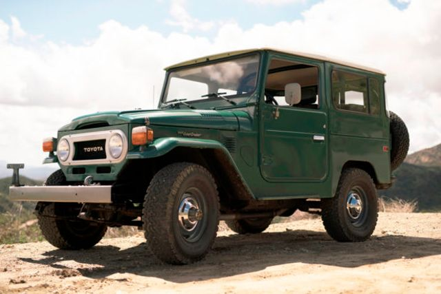 This 40 Year Old Toyota Land Cruiser Has Covered Just 5000 Miles