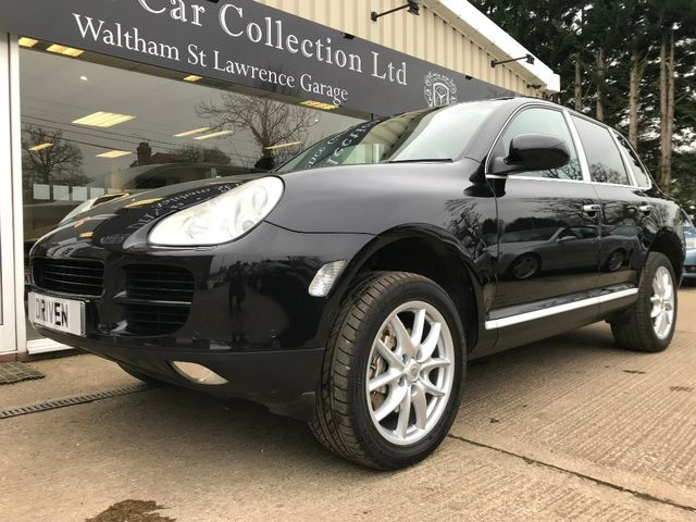 This 6000 Manual Porsche Cayenne S Is V8 Gangster Chic On A
