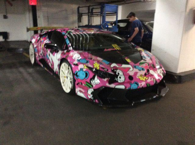 Alex Choi S Lamborghini Huracan At Gold Rush Rally Nyc