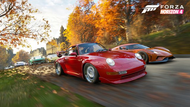 Forza Horizon 4's Huge Car List Has Been Revealed By Accident