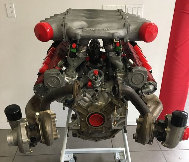 This Ferrari F40 Engine Is For Sale And It S Time To Treat Yourself