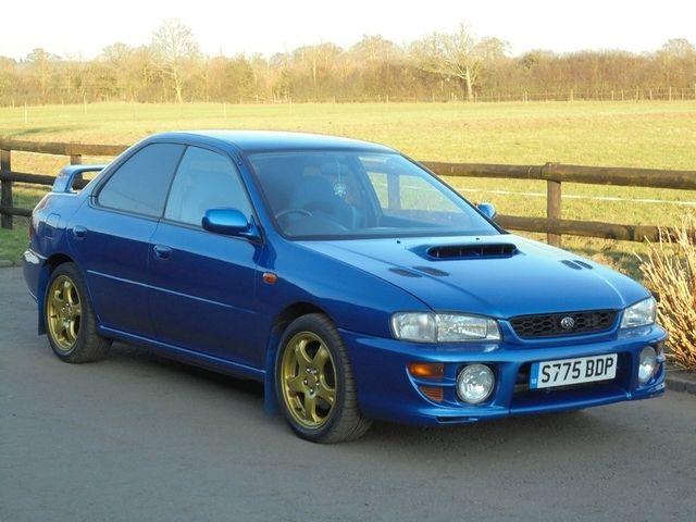 This £9000 Subaru Impreza WRX Type RA '555' Is Winning Our