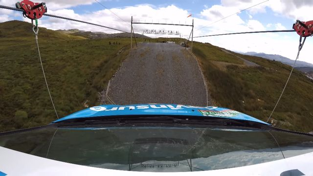 Awe Inspiring A Rally Car On A Zip Wire Is Todays Gold Standard Jaw Dropping Stunt Wiring 101 Relewellnesstrialsorg