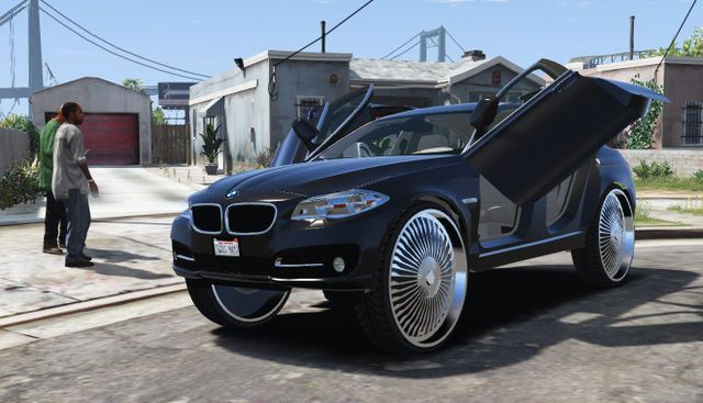Uhhh, the new GTA V car mods can't get even crazier