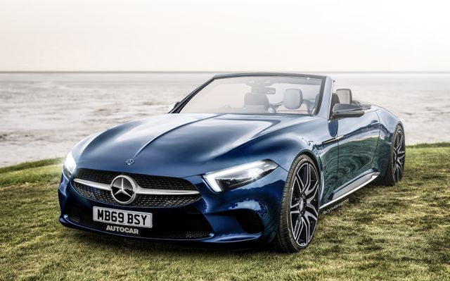 New Mercedes 2020 New Mercedes SL Arriving In 2020, Will Sit On Next Gen AMG GT Base