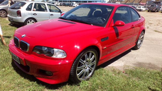 Beautiful Imola Red Bmw M3 E46 Spotted