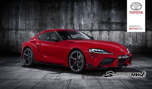 Here Are Official Pictures Of The New Toyota Supra