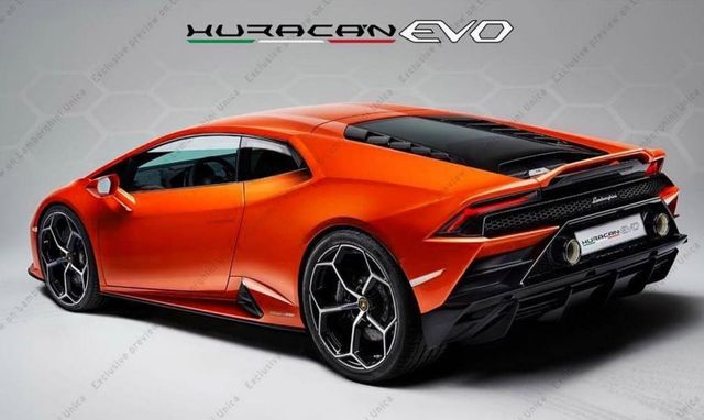 This Is The Refreshed Lamborghini Huracan Evo