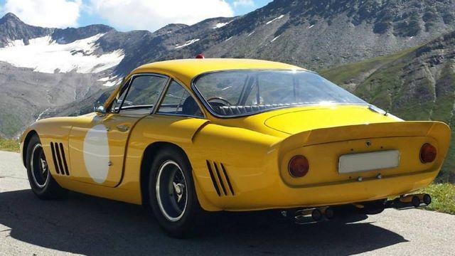 What Happens When You Make A Ferrari 330gto And A Ferrari 250 Berlinetta Lusso Have A Child 1963 Ferrari 330 Lmb