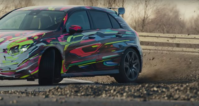 415bhp Mercedes Amg A45 S Accidentally Revealed By Insurance