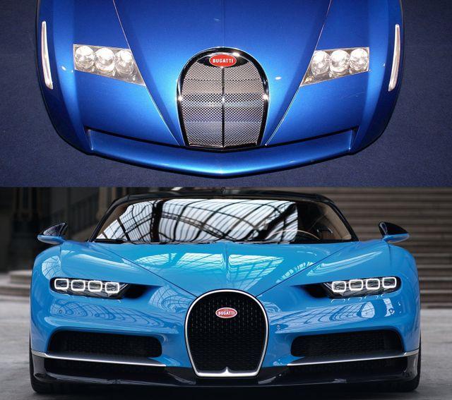 Bugatti S First Chiron Was A Lamborghini Diablo With A W18 Engine