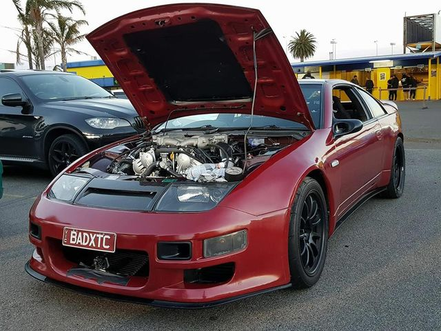 Nissan 300ZX with a VR38DETT V6