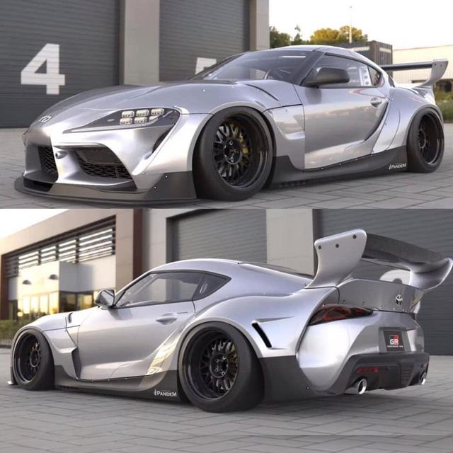 A Pandem Widebody A90 Toyota Supra Bodykit Is On The Way