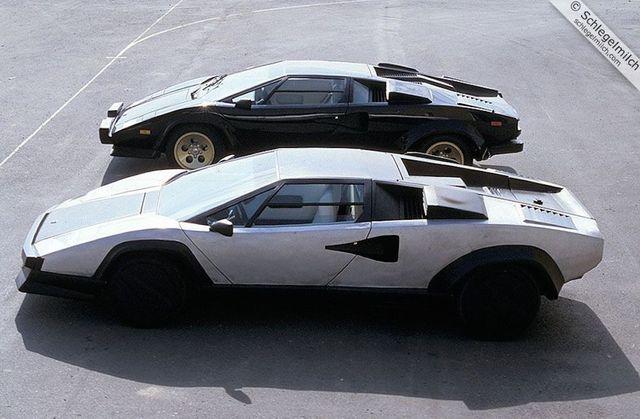 1987 Lamborghini Countach Evoluzione The Prototype Lamborghini For