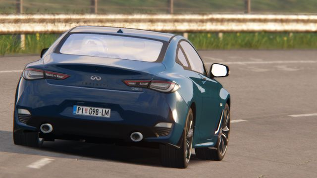 Assetto Corsa : Review of my new 2019 Infiniti Q60S by RTM Mods