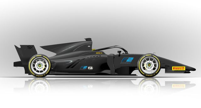 Formula 2 Cars Will Have 18 Inch Rims Next Year And They Look Superb
