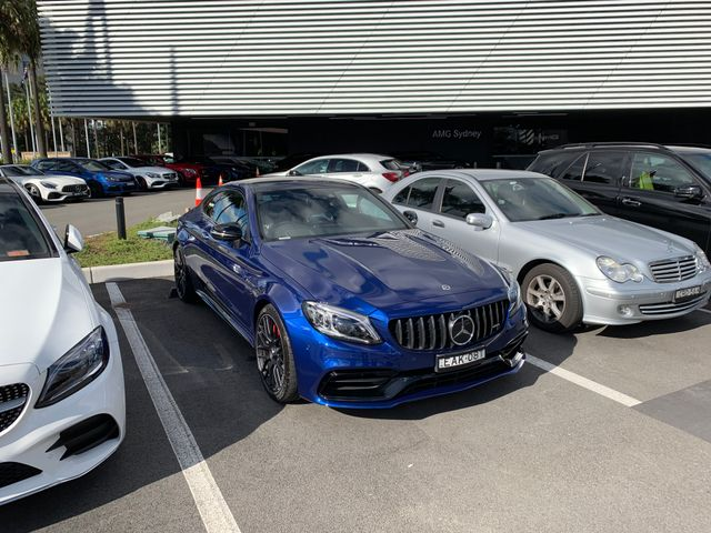 The all new revised Mercedes C63 AMG Coupe