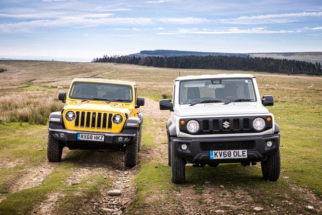 Dirty Weekender: Suzuki Jimny Meets Jeep Wrangler Rubicon