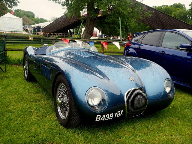 Jaguar C Type replica from 2014 - looks pretty genuine if