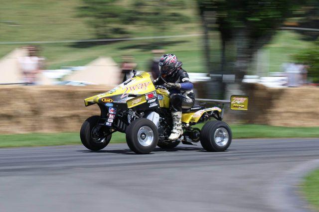Custom Suzuki LT500R ATV with a GSX-R1000 Inline-Four