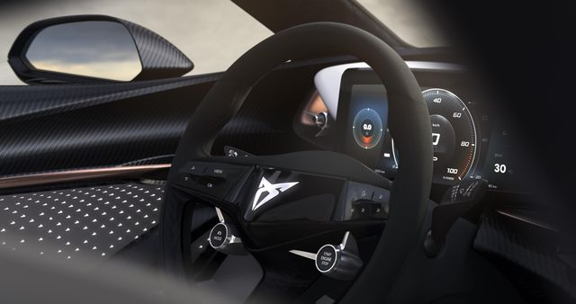 An All Electric Cupra Concept Is Coming With A Funky Steering Wheel