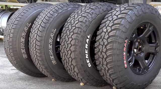 How Much Difference Do All Terrain And Mud Tyres Actually Make