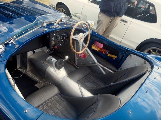 Jaguar C-Type replica - looks pretty accurate to me!
