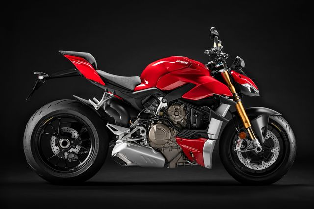 Street Fighter Motorcycle >> The Ducati Streetfighter V4 S Is A Naked Bike With 1260bhp