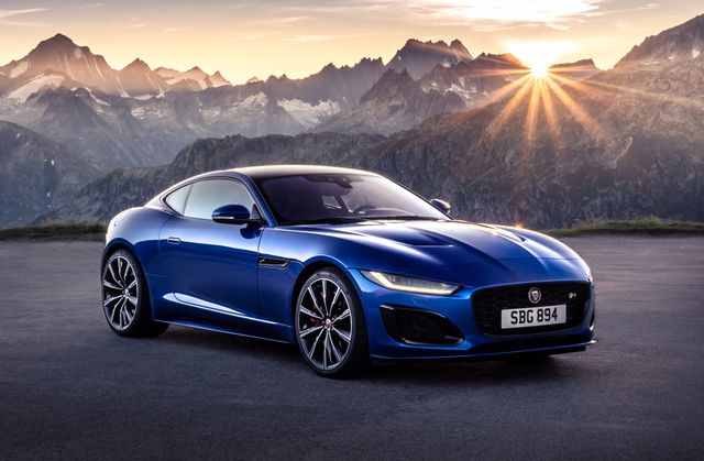 The 2021 Jaguar F Type Is Here With A New Face But No V6