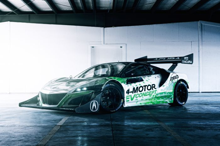 Honda plotting 1000hp pure-electric NSX