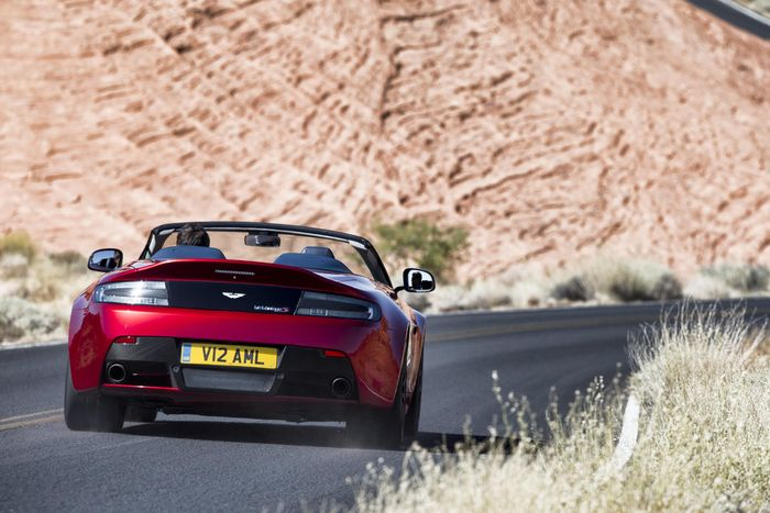 The 201mph V12 Vantage S Roadster Is The Fastest Aston Martin Drop Top Ever