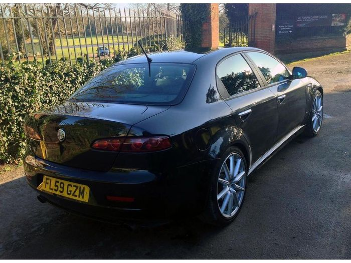 this stunning alfa romeo 159 v6 ti is a rare italian you 39 ll want on your driveway. Black Bedroom Furniture Sets. Home Design Ideas
