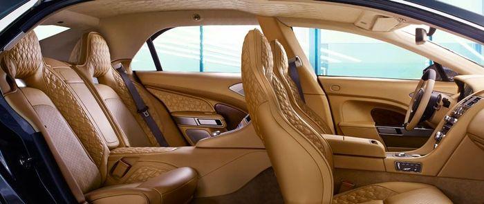 Take A Look Inside The Super Opulent Super Exclusive Aston Martin Lagonda