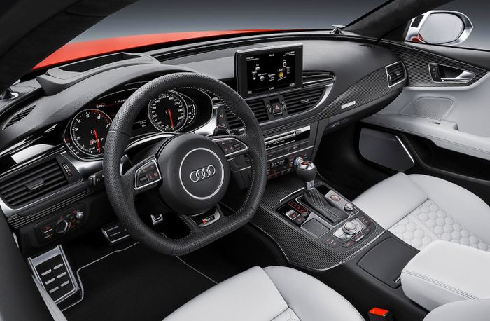 Plastic Surgery Has Made The 552bhp Audi Rs7 One Of The Prettiest V8