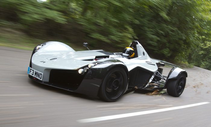 BAC Mono The 5 Coolest Single Seater