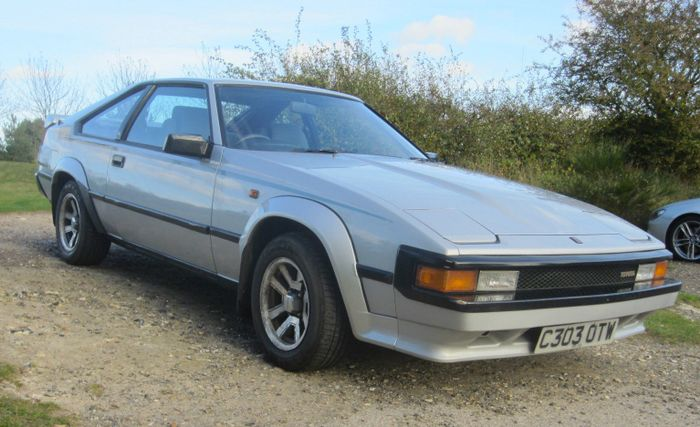 Words cannot describe how much i want this mk2 toyota celica supra the looks are reminiscent of the toyota ae86 corolla although here theres no tofu tax the old corollas appearance in classic manga series initial d sciox Gallery