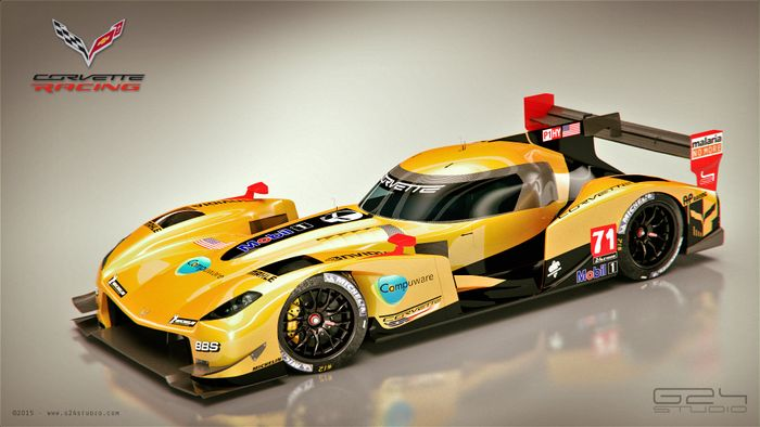 This Jaw Dropping Corvette LMP1 Concept Needs To Become A ...