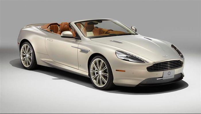 Equestrian Themed Aston Martin Db9 Volante By Q