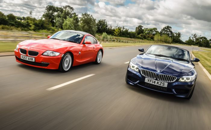 The New Bmw Z4 Sure Is Fast But It S The Old Coupe That