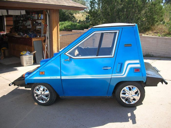 It S Called The Comuta Car And Was Built By Commuter Vehicles From 1979 Through 1982 This Is Actually Second Generation Model Earlier Citicar