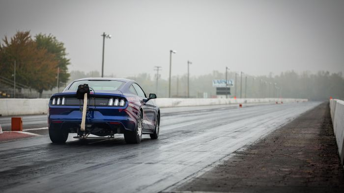 The Ford Mustang Cobra Jet Is A Factory Drag Racer With An