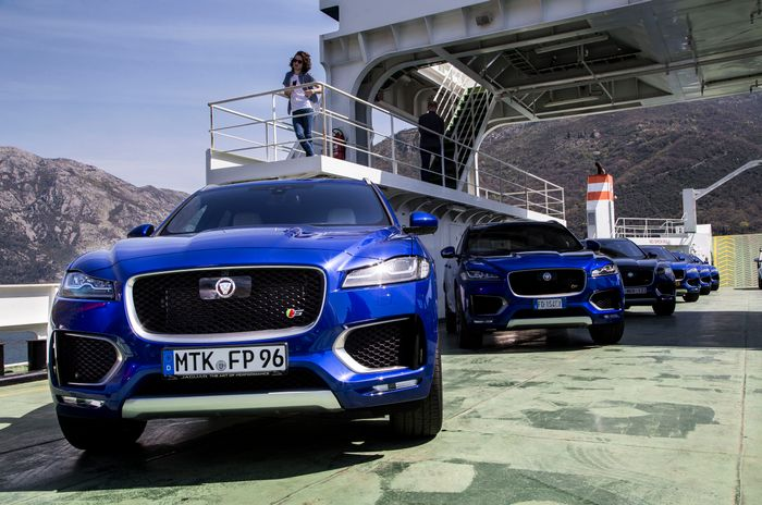 Jaguar reveals teaser image of E-Pace 'compact performance SUV'