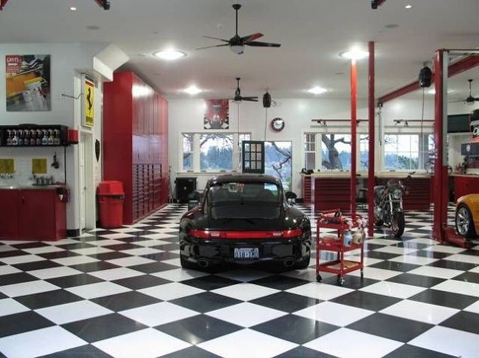 Man Cave Garage Minnesota : Awesome garages that ll give you man cave envy