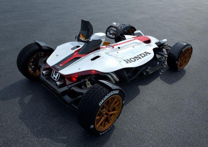 The Honda Project 2 4 Concept Is A Motogp Engined Ariel Atom Killer