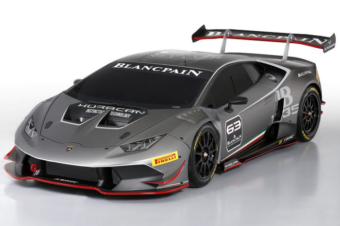 the lamborghini huracan super trofeo is a ripped race car. Black Bedroom Furniture Sets. Home Design Ideas