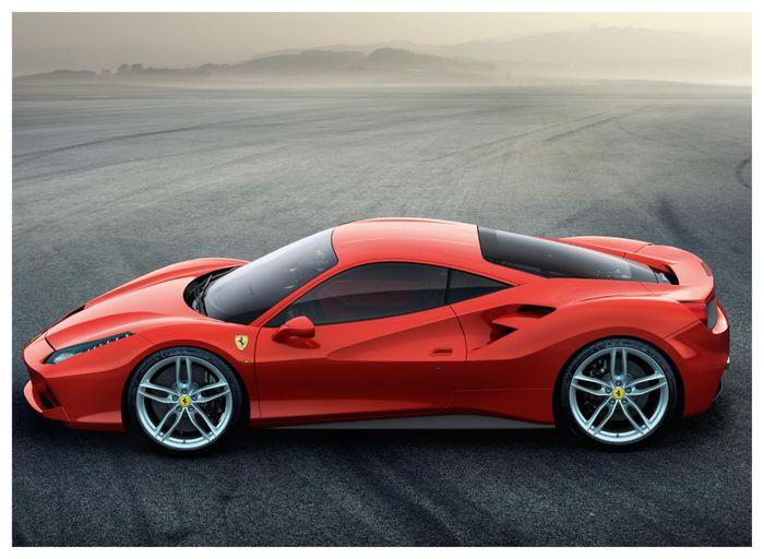 Ferrari 458 successor