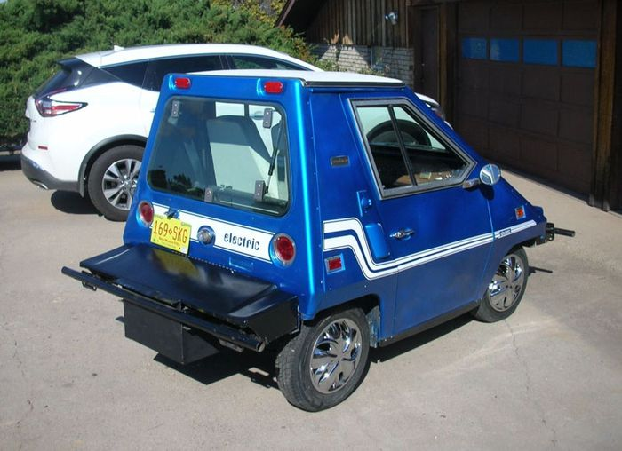 This Funky Little Commuta Car Is How They Did Evs In The 70s And Could Be Yours For Just 3k